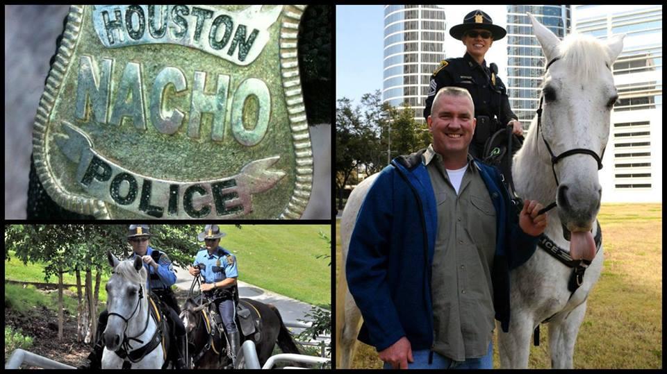 National Nacho Day with Nacho. @houstonpolice.