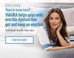 Viagra Ad. Image Courtesy of viagra.com.